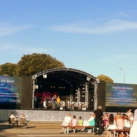 Photo taken at BSO Concert Pier  Approach by Hazal on 8/6/2013