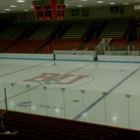 Photo taken at Walter Brown Arena by Paige D. on 10/12/2012
