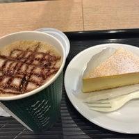 Photo taken at カフェ・ベローチェ 一番町店 by Hideki K. on 2/8/2017