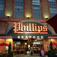 Photo taken at Phillips Seafood by John K. on 7/7/2013