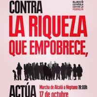Photo taken at Ayuntamiento Azuqueca de Henares by Sandra Y. on 10/17/2013