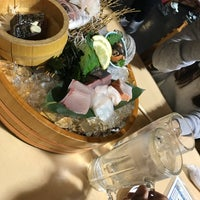 Photo taken at 海鮮うまいもんや浜海道 春日本店 by 中村 和. on 4/23/2017