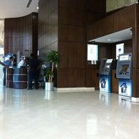 Photo taken at Al Jazira Bank . Head Office | بنك الجزيرة by Imad A. on 10/7/2012