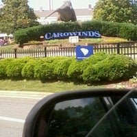 Photo taken at Carowinds Parking Lot by Teniqua C. on 6/1/2013