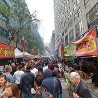 Photo taken at Street Market at 43rd St. by Johnathan R. on 10/13/2017