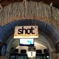 Photo taken at Alaçatı Shot Bar by Sinan B. on 8/8/2013
