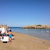 Photo taken at Escape Beach Club by Sinan B. on 10/27/2012
