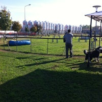 Photo taken at A.S.D. Cinofila Agility Fun by Cristian F. on 10/19/2013