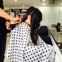 Photo taken at Gala Dallas Coiffeur by Özge İ. on 6/25/2015