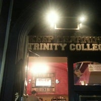 Photo taken at Trinity College Pub by Ana Q. on 9/13/2013