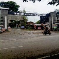 Photo taken at Terminal Gayatri Tulungagung by Sigit P. on 12/22/2013