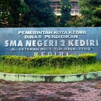Photo taken at SMA Negeri 2 Kediri by Sigit P. on 3/24/2014
