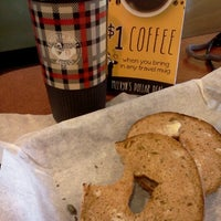 Photo taken at Einstein Bros Bagels by Sandee C. on 1/15/2013