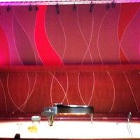 Photo taken at Conservatorio de Música de Puerto Rico by Sylvia P. on 12/9/2012