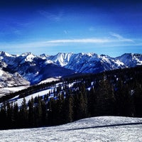 Photo taken at Vail Mountain by Meg B. on 3/14/2013