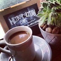 Photo taken at Metropolitan Cafe by Meg B. on 2/24/2013