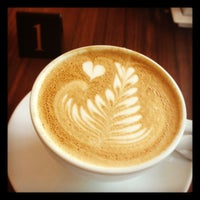 Photo taken at The Art of Coffee by Wendy T. on 11/8/2012