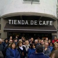 Photo taken at Tienda de Café by Andrea V. on 5/19/2013