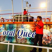 Photo taken at Coral Queen Cruise by Devendra D. on 2/16/2014