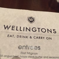 Photo taken at Wellingtons Pub by Corey P. on 2/6/2016