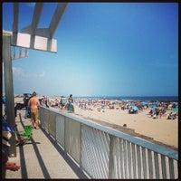 Photo taken at Rockaway Beach - 86th Street by Sean J. on 7/14/2013