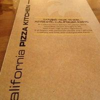 Photo taken at California Pizza Kitchen by John S. on 12/31/2012