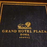 Photo taken at Grand Hotel Plaza by John S. on 4/26/2013