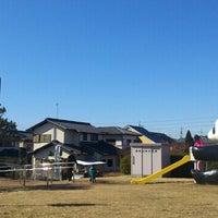 Photo taken at にしうしろ公園(パンダ公園) by Masakazu I. on 2/11/2014