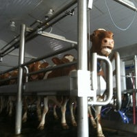 Photo taken at Hoard's Dairyman Farm by Lucas S. on 10/16/2012