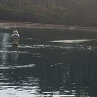 Photo taken at GGACC Fly Casting Pools by Ben R. on 10/24/2014