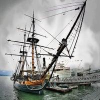 Das Foto wurde bei Maritime Museum of San Diego von Milton am 5/7/2013 aufgenommen