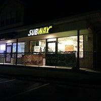 Photo taken at SUBWAY by Milton on 12/8/2013