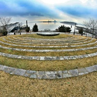 Photo taken at Barretto Point Park by Milton on 2/28/2013