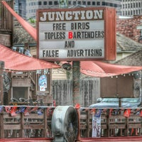 Photo taken at Junction Bar & Grill by Milton on 5/6/2015