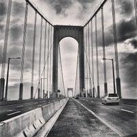 Photo taken at Bronx-Whitestone Bridge by Milton on 1/1/2013