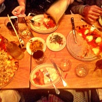 Photo taken at Pizzeria Delfina by brett r. on 11/12/2012