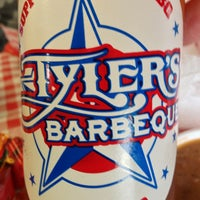 Photo taken at Tyler's Barbeque by Tim P. on 12/27/2012