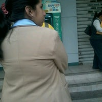 Photo taken at Banco Bolivariano by Jacinto A. on 1/3/2013