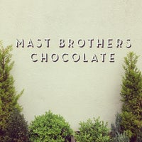 Photo taken at Mast Brothers Chocolate Factory by Mamie R. on 5/29/2013