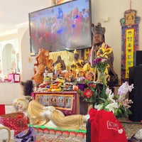 Photo taken at True Buddha Rainbow Village by Frank L. on 8/26/2014