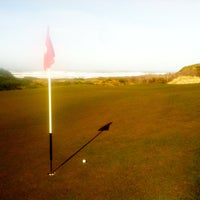 Photo taken at Bandon Dunes Golf Resort by Frank L. on 2/27/2013