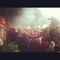 Photo taken at True Buddha Rainbow Village by Frank L. on 10/21/2012