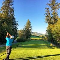 Photo taken at Salish Cliffs Golf Club by Frank L. on 10/5/2015