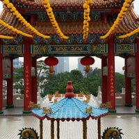 Photo taken at Thean Hou Temple (天后宫) by Amanda L. on 4/30/2013