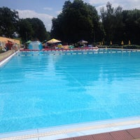 Photo taken at Koupaliště RICCO Příbor by Zdenka H. on 6/18/2014