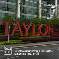 Photo taken at Taylor Lakeside Campus @ Tea Essence by Aswin H. on 8/23/2013