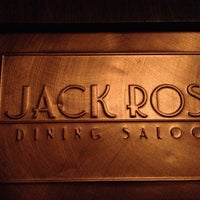 Photo taken at Jack Rose Dining Saloon by George T. on 1/6/2013