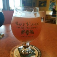 Photo taken at Bare Hands Brewery by Rob H. on 4/4/2017