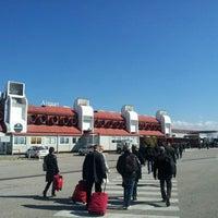 Photo taken at Aeroporto Internazionale di Lamezia Terme (SUF) by Alessandro S. on 2/28/2013