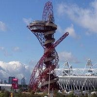 9/14/2012 tarihinde Diana C.ziyaretçi tarafından Queen Elizabeth Olympic Park'de çekilen fotoğraf